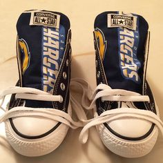 San Diego Chargers Converse Shoes - http://cutesportsfan.com/san-diego-chargers-designed-sneakers/