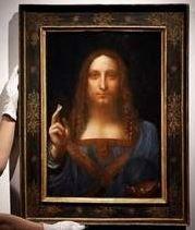 Venden en 450 millones de dólares pintura de Leonardo Da Vinci