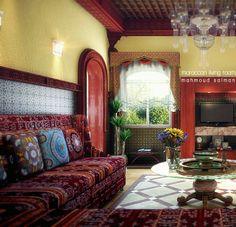 Moroccan Living Room - Bing Images