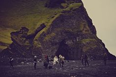 Free People in Iceland. The  Holiday 2013 Catalog.