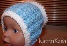 как связать шапочку чепчик для новорожденного