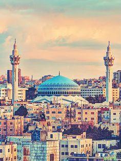 #King_Abdullah #mosque #Amman #Jordan #DirectRooms http://en.directrooms.com/hotels/subregion/3-47-276/