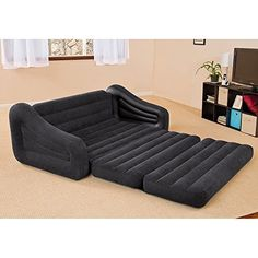 intex premaire elevated airbed with built in electric air pump rh pinterest com
