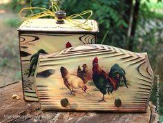 Декор предметов Мастер-класс День семьи Декупаж Ложный обжиг и браширование древесины Дерево Фанера фото 18