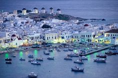 It's difficult to choose most beautiful places in Europe because Europe is Fascinating place in itself. No other continent has scenic beaut. Greek Island Tours, Greek Islands Vacation, Best Greek Islands, Places In Greece, Places In Europe, Places To Travel, Vacation Trips, Dream Vacations, Mykonos Island