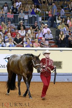Madison Thiel shared her thoughts about winning the showmanship world championship in her interview with the Journal. #AQHYAWorld