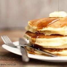 Classic Buttermilk Pancake Recipe — Buns In My Oven #buttermilkpancakesrecipesweets