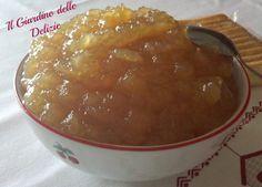 Marmellata di mele al microonde