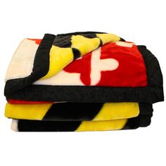Maryland Flag / Blanket (Back-Ordered Until Flannel Material, University Of Maryland, Cozy Blankets, Cold Day, Flag, Lacrosse, Game Room, Baltimore, Photo Credit