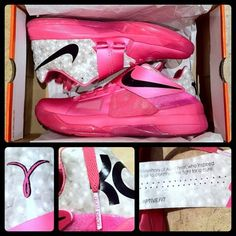 huge selection of 08564 42d4b Nike Zoom KD IV  Aunt Pearl  Think Pink - SneakerNews.com