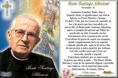 Imágenes de Cecill: Estampita y Oración al Beato Santiago Alberione