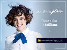 Descubre cómo tener un color brillante y #Glam! 😉    Reserva tu #sunshine en salones Compagnia della Bellezza.    ¡Busca el tuyo!👉http://bit.ly/SalonesCDB    #CompagniadellaBellezzaEspaña