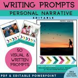 3rd Grade Writing Prompt | Personal Narrative Writing | 3rd Grade Writing Prompt | PICTURES