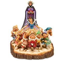 Snow White and the Seven Dwarfs ''The One That Started Them All'' Figurine by Jim Shore | Disney Store