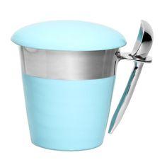 Lunares: Pint Ice Cream Holder Blue