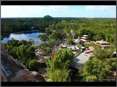 Park Panorama from Expedition Everest