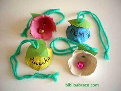 Una idea bonica i econòmica per fer uns cascavells diferents i originals! Easy Crafts For Kids, Summer Crafts, Holiday Crafts, Summer Fun, Holiday Fun, Art For Kids, Diy And Crafts, Arts And Crafts, Holiday Decor