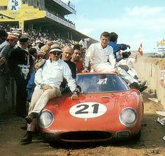 Le Mans 1965 Winners . Ferrari 250LM , Gregory-Rindt.