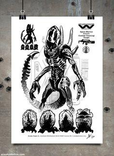 Aliens - Xenomorph Combat Target