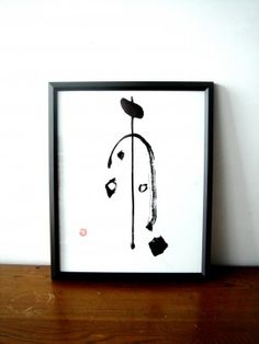 Satoko Ishikawa 雨 Japanese Calligraphy, Calligraphy Art, Japanese Wall Art, Letter Symbols, Japanese Interior Design, Chinese Characters, Zen Art, Mark Making, Asian Art