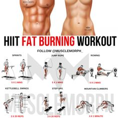 hiit fat burning workout exercise cardio sprints rowing
