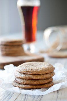 Soft & Chewy Brown Sugar Beer Cookies