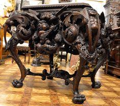 Oryginalny barokowy stolik