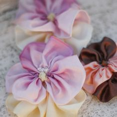 How to Make Fabric Flower Wedding Shoe Clips by Jewel Box Ballerina