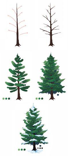 Paint a tree.