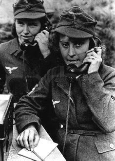 Luftwaffe Flak Helferinnen