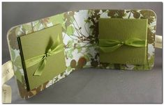 Mini album from coasters - original tutorial by Nichole Heady from Papertrey ink