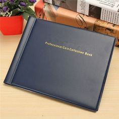 New Collecting 240 Coins Storage Holder Money Penny Album Book Pockets