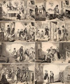 George Cruikshank – The Bottle (1847)