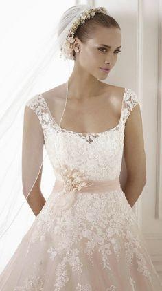 Pronovias 2015 Bridal Collections - Part 2 | bellethemagazine.com