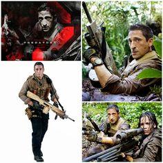 Adrien Brody as Royce Predators Movie Figure