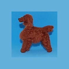 Ravelry: Irish Setter pattern by Pixie Kitten