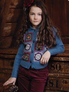 crochet & knitting cardigan
