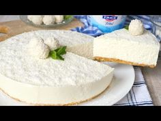 Yogurt Cake, Queso, Vanilla Cake, Camembert Cheese, Cheesecake, Deserts, German, Food, Desert Recipes