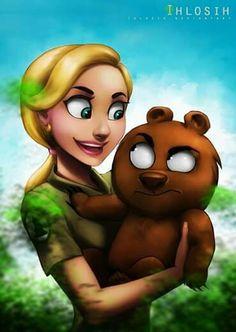 ArtStation - Brickleberry, Fanni G Rick And Morty, Disney Characters, Fictional Characters, Anime, Creatures, Fan Art, Deviantart, Cartoon, Disney Princess