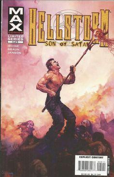 Hellstorm comic issue 5