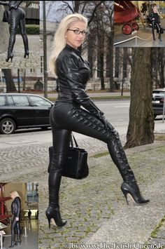 Leather Gloves, Leather Pants, Black Leather, Zara Home, Leder Outfits, Stiletto Boots, Leggings, Sexy High Heels, Fall Outfits