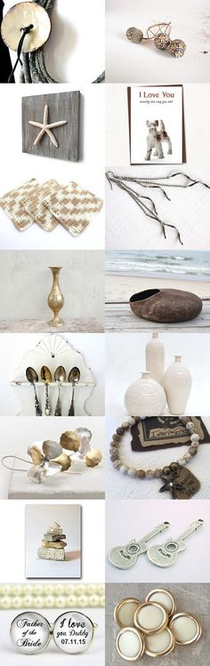 Minimalist Perfection by Julia on Etsy--#Etsy #treasury #grey #statement #necklace #Autumn #fashion #jewelry #starfish #cat #bed #Fall #decor Pinned with TreasuryPin.com