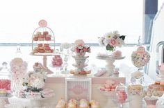 Candy buffet display