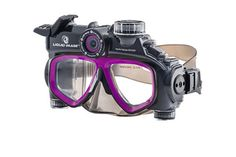 Dive in for some underwater fun and record some unique footage with a Liquid Image waterproof video camera goggle!