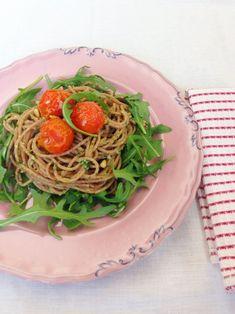 gezonde pasta pesto