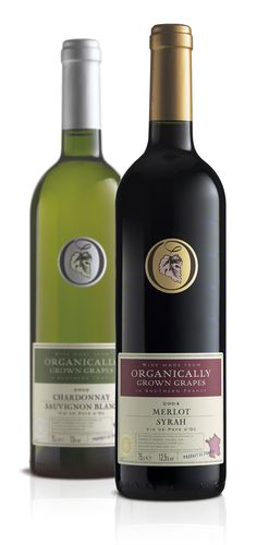 The Co-operative Organic wines – Wine & Spirit Design Awards 2007 Seal of Approval