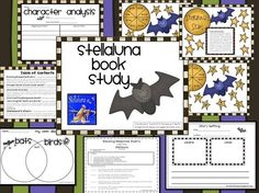 Stellaluna Book Study by sabrina