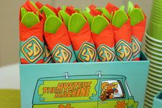 "Photo 33 of 66: Scooby Doo / Birthday ""Jinkies! A 5th Birthday!"" 