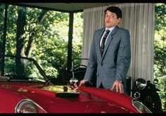 FERRIS BUELLER'S DAY OFF 1986 USP: The ultimate 'stick it to the oldies' film — teen wise-guy Ferris (Matthew Broderick) is always a step ahead. MVP: Broderick, here the epitome of boyish charm. And yet not hateable. OMG: The Ferrari gets trashed. Iconic Movies, Great Movies, 90s Movies, Most Likely To Awards, Movies Showing, Movies And Tv Shows, Ferris Bueller, Day Off, Classic Movies