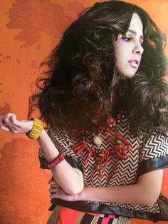 Collar y pulseras de mi diseño, en Intermoda Magazine 2016. FB: Alejandra Aceves Diseño de autor.